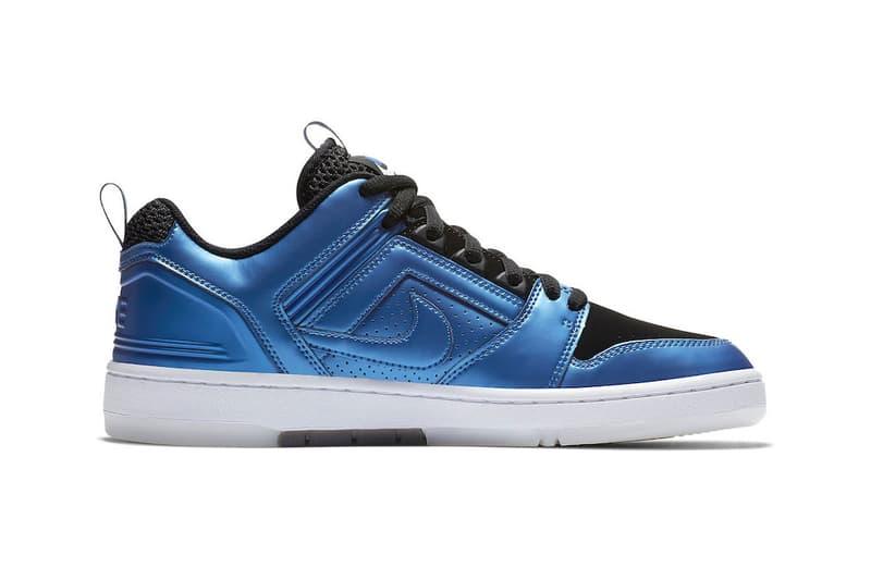 Nike SB Air Force 2 Low Foamposite Release Date info price sneaker rivals pack skateboarding international blue penny hardaway michael jordan