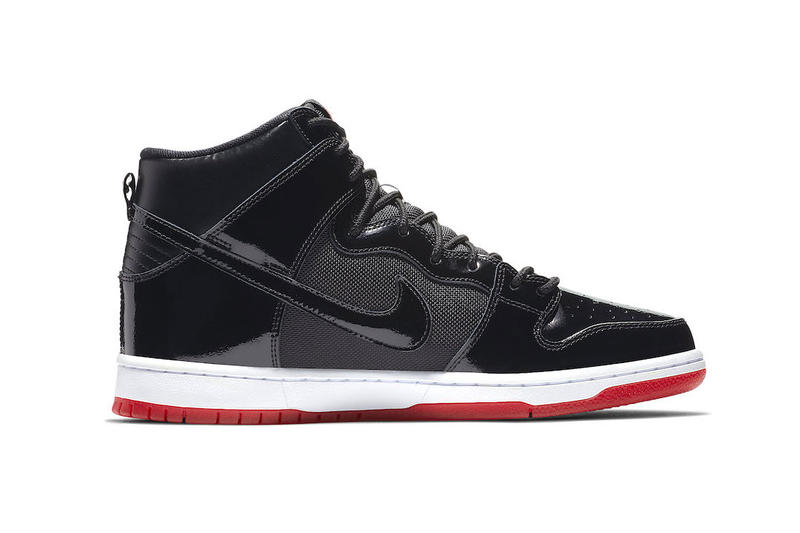 "Nike SB Dunk High ""Bred"" Release Date info price sneaker skateboarding black red Black/Black-White-Varsity Red november 2018 rivals pack"