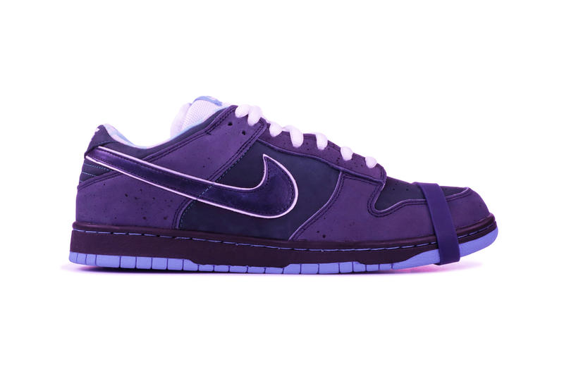 buy online f36f8 b6388 CNCPTS x Nike SB Dunk Low pro premium Purple Lobster Teaser december 14  2018 sneakers shows