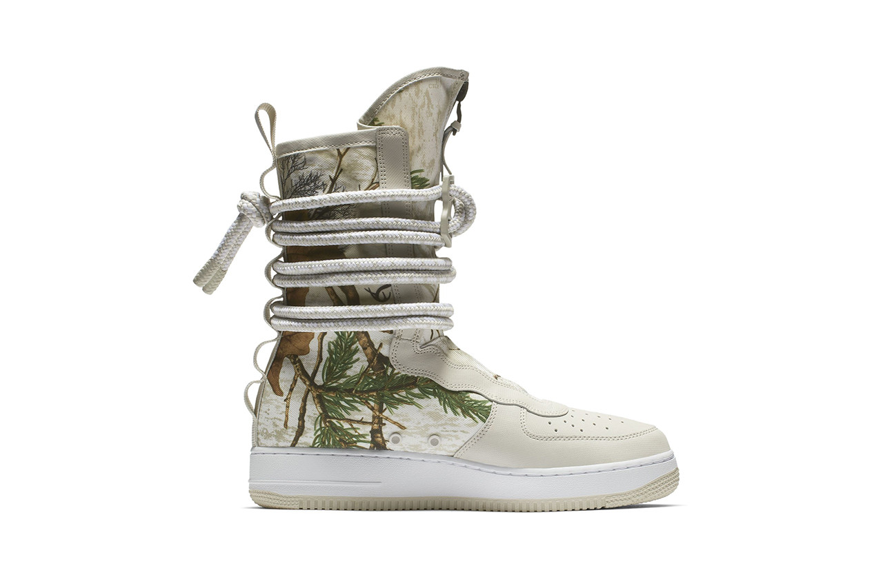 Nike Taps Realtree for Camouflage SF AF