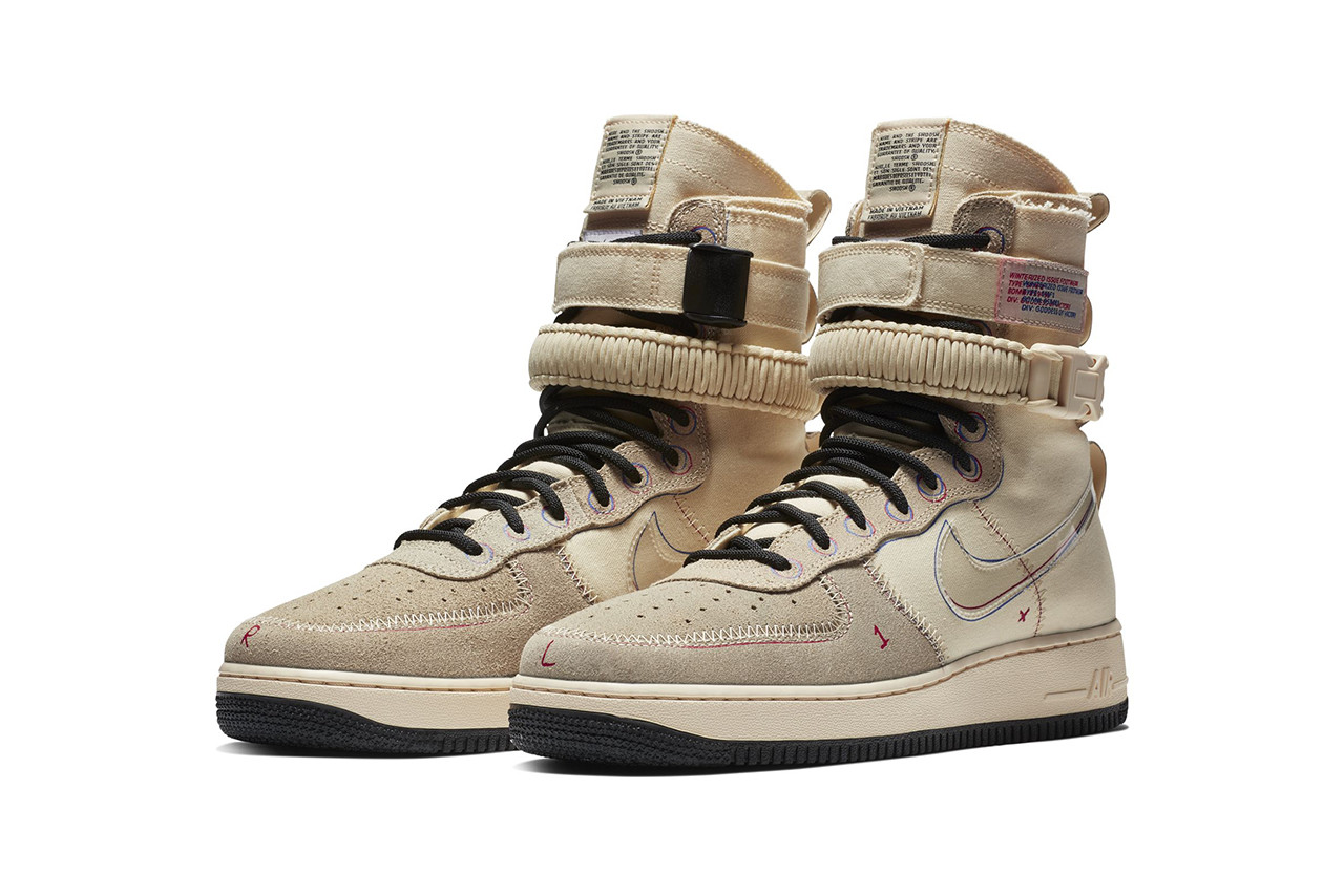 Nike SF AF-1 Mid Boot Muslin With