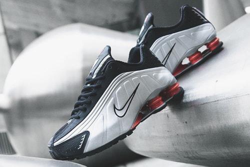 6c1e4d0a4a18 Nike Brings Back the Shox R4 in Original Black   Silver Colorway