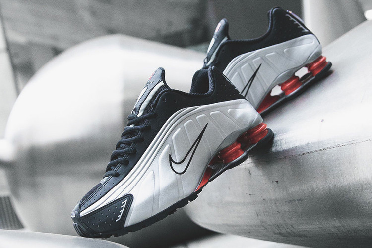 Nike Brings Back the Shox R4 in Original Black   Silver Colorway 83d4f4ae4