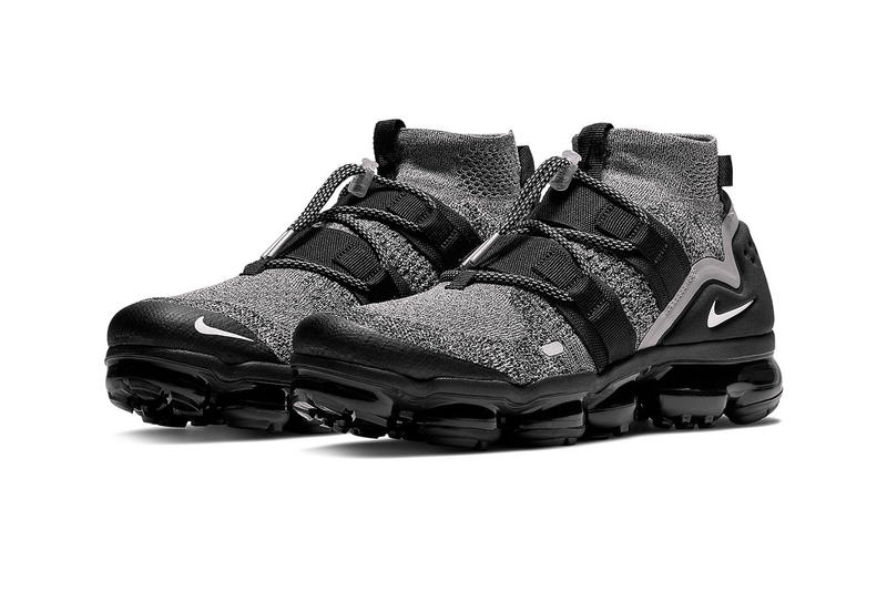 "Nike air Vapormax Flyknit Utility ""Moon Particle"" Release Date oreo colorway sneaker price info purchase buy online size"