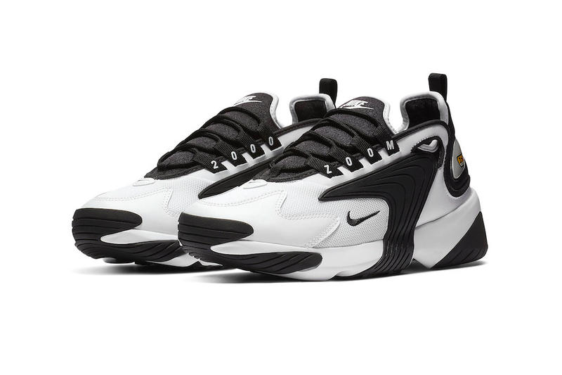 cheaper a251a 6c6e0 Nike Introduces the Zoom 2K Sneaker model first look black white colorway  purple pink women s price
