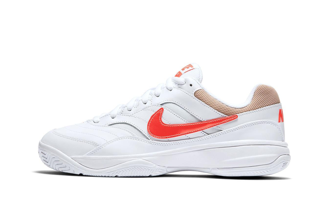 NikeCourt Court Lite Orange and Tan