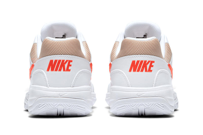 NikeCourt Court Lite Orange and Tan Release Sneakers shoes tennis sports Wimbledon