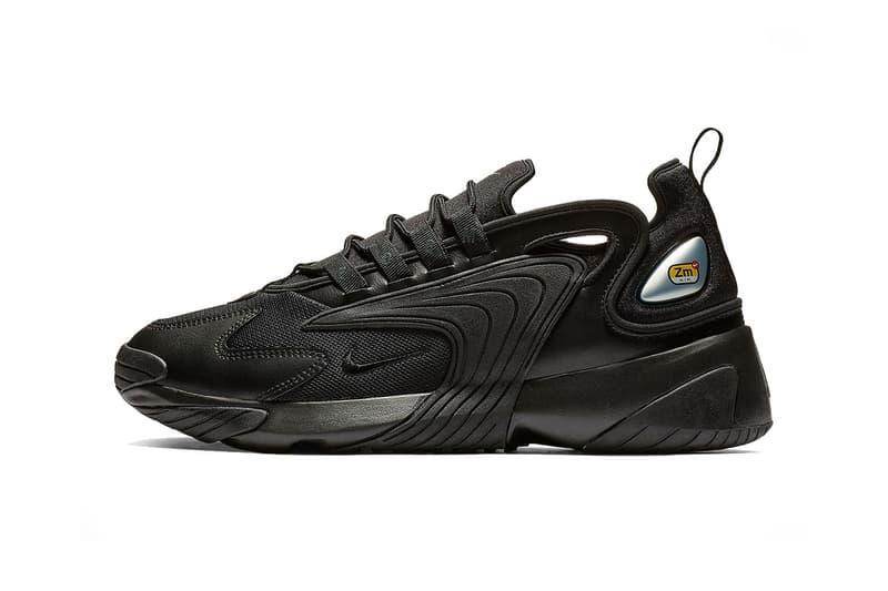 4e3598aea095c nike zoom 2k triple black grey 2018 footwear nike sportswear Triple Black  Cool Grey release date