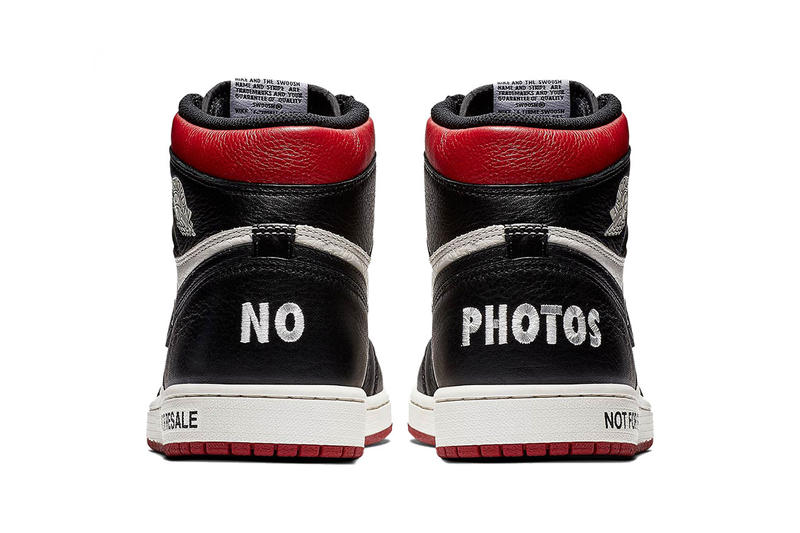Not for Resale Air Jordan 1 Mandatory Store Wear nike oneness shoes red white black policy