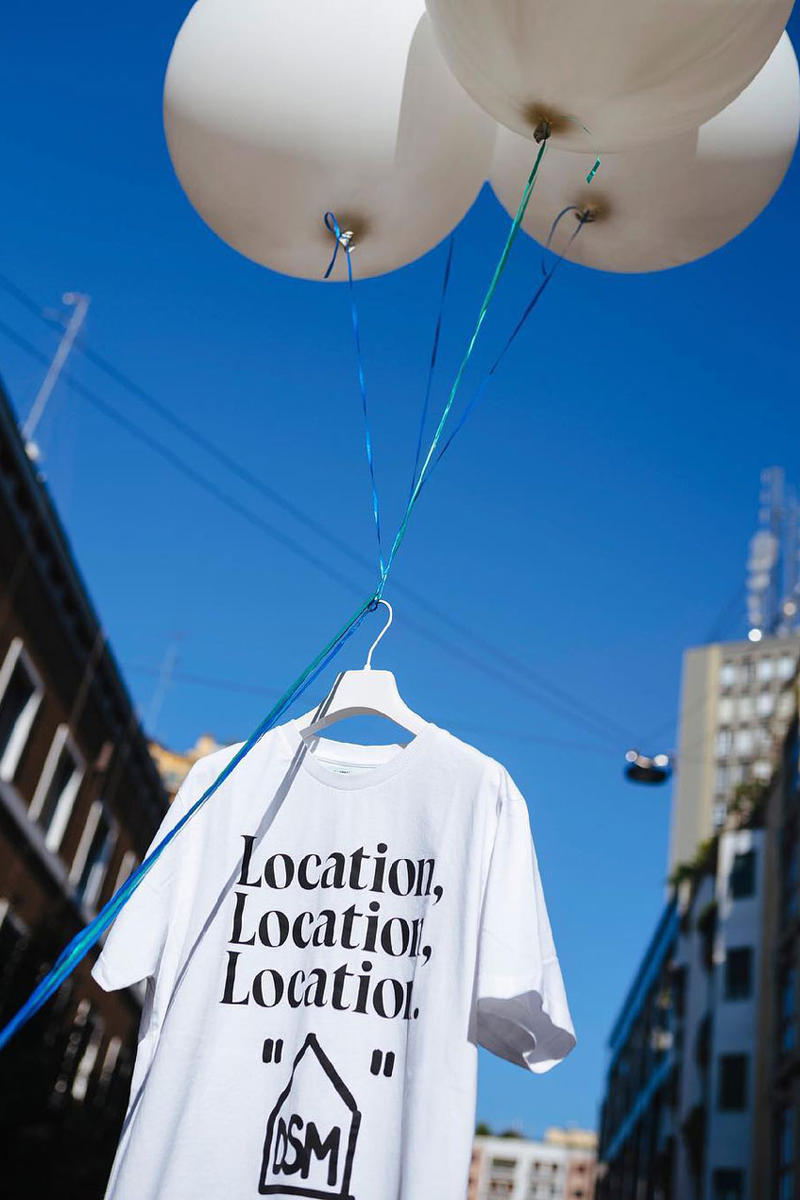 off white dover street market los angeles la opening november 3 2018 release date drop info collaboration collection hoodie tee shirt virgil abloh house