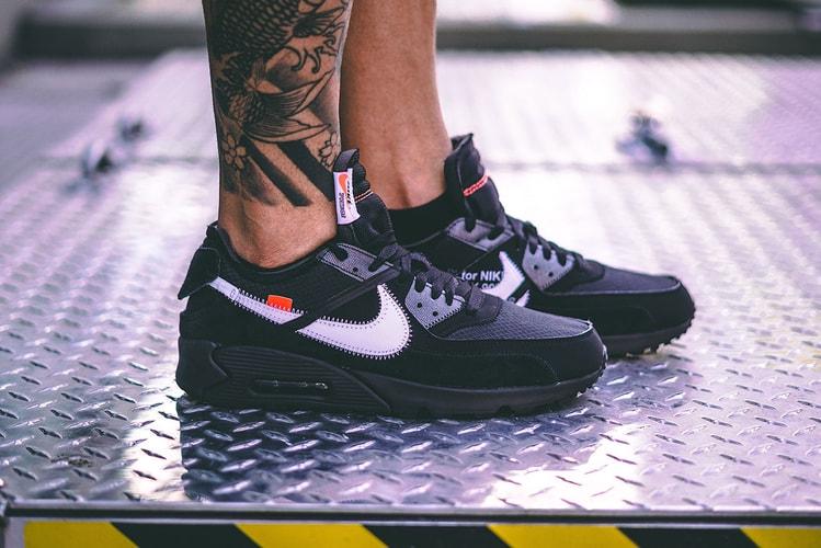 buy online 5df9e 41b3f An On-Foot Look at the Off-White™ x Nike Air Max 90