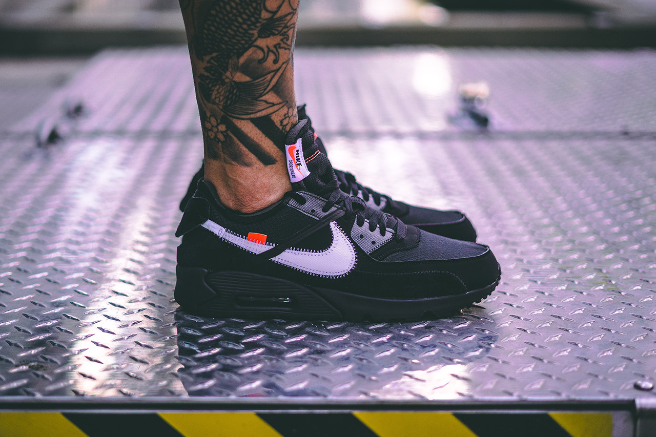Off-White™ x Nike Air Max 90 Collab On