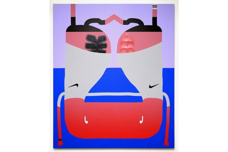 Oli Epp Semiose Galerie Artissima Art Fair paintings artworks artists art