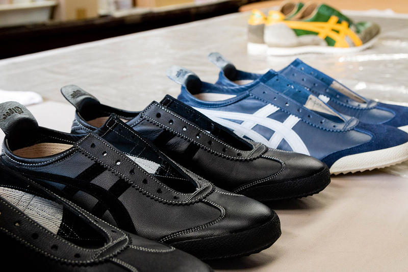 Onitsuka Tiger Customize Personal Unique Nippon-Made Factory Sagawa Osaka Sneakers Footwear Premium Behind the Scenes
