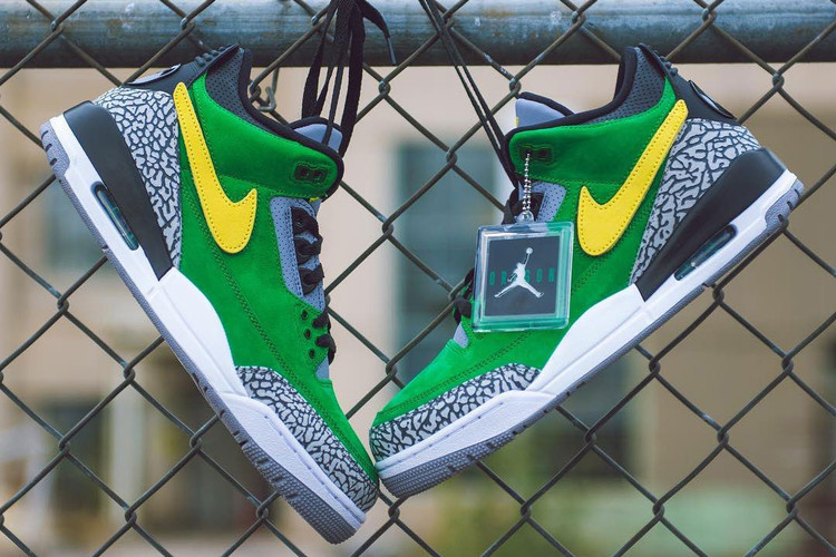 2d892b5250b Oregon Ducks Flaunt New Air Jordan 3