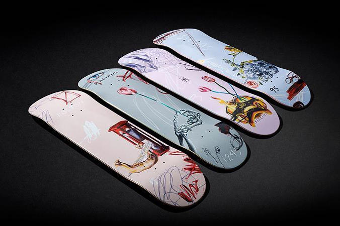 othelo gervacio numbers edition skateboards artworks art artists