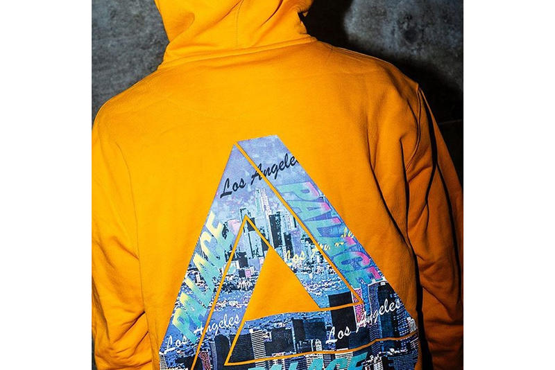 Palace Dover Street Market LA Opening Release Exclusive Hoodie Tri Ferg Los Angeles