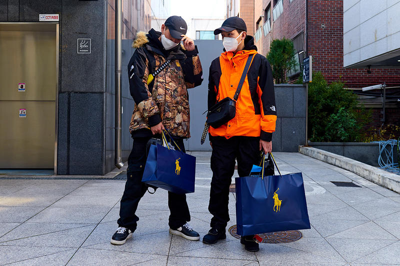 Palace x Polo Ralph Lauren Garosu Seoul Release korea street style drop streetwear lines