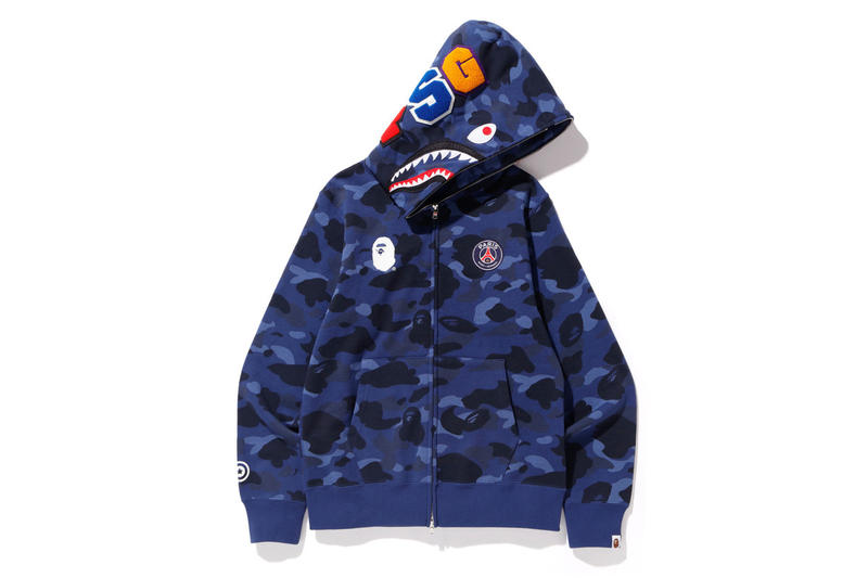 nuovo di zecca 43814 0f155 Paris Saint-Germain x BAPE Full Collection | HYPEBEAST