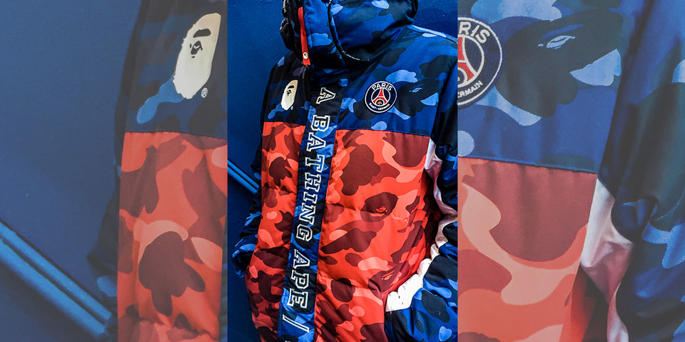 0a863384 Paris Saint-Germain x BAPE Collaboration Tease | HYPEBEAST