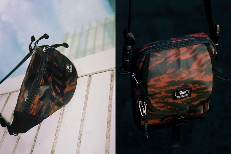 patta fall winter 2018 bag collection tiger stripe camo