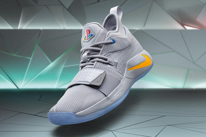 Paul George PlayStation Nike PG 2.5 Release Date Golden State Warriors Oklahoma City Thunder Grey NBA basketball