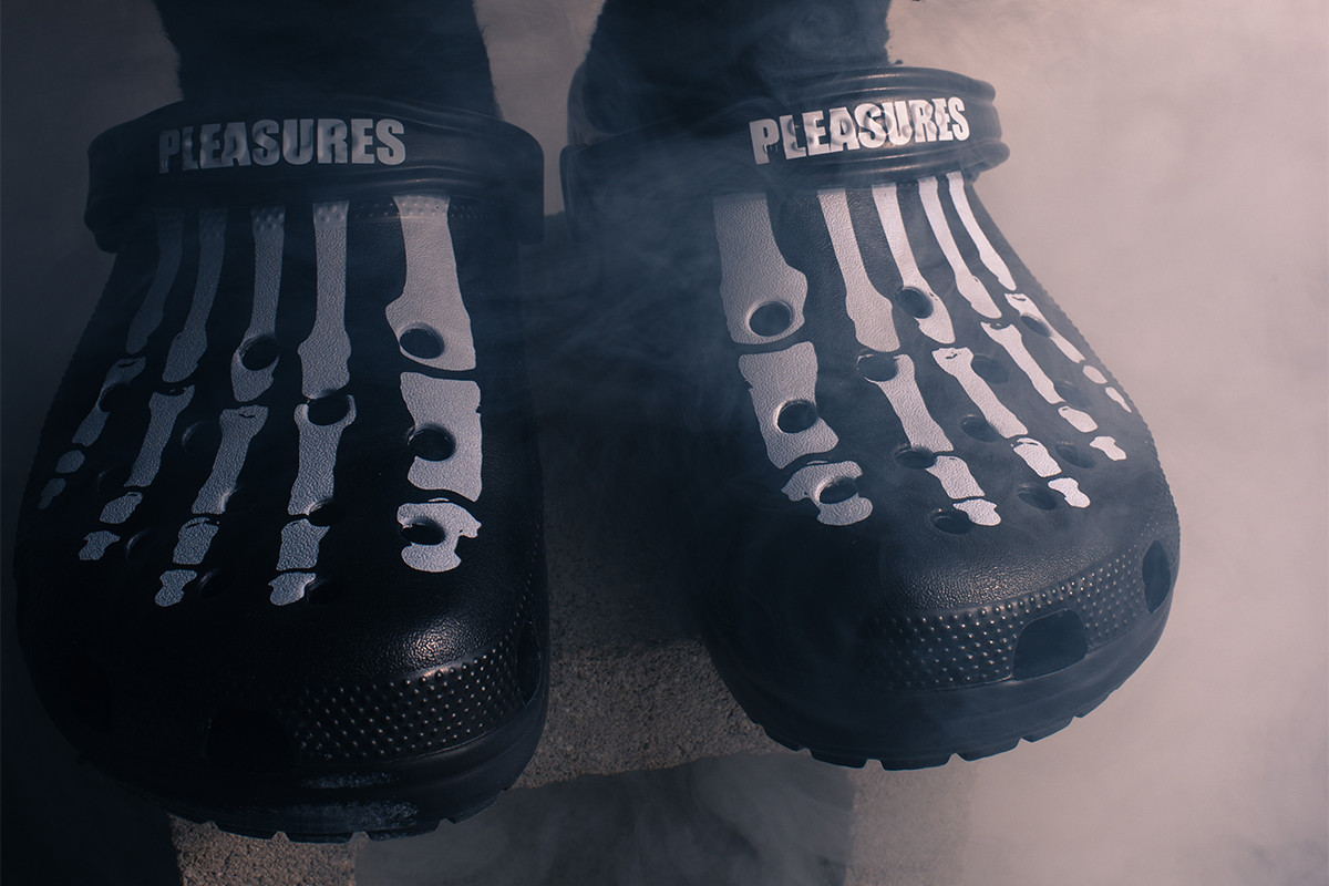 PLEASURES Teases Upcoming Collaboration with Crocs