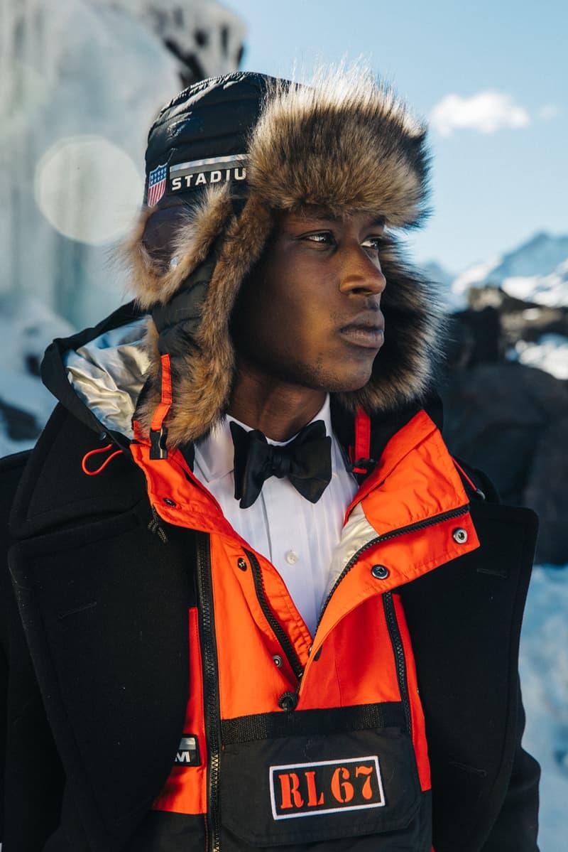 Polo Ralph Lauren fall winter 2018 winter stadium lookbook collection release drop info buy hbx shop