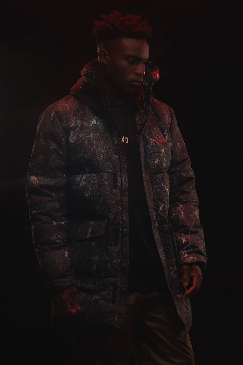 Outlaw Moscow x PUMA Winter Apparel Collection Lookbook Military Down Parka