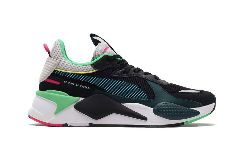 708d1d7769f Puma RS-X Toys Black Colorway Sneaker Details Shoes Trainers Kicks Sneakers  Footwear Cop Purchase