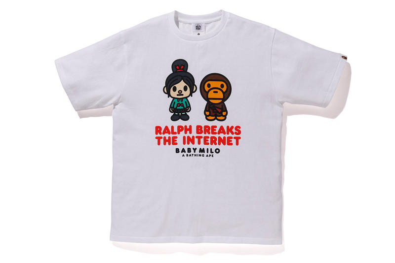'Ralph Breaks the Internet' x BAPE Collaboration Wreck It Ralph Disney