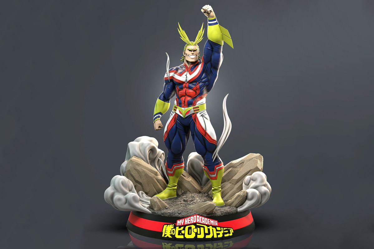 RC Studios is Releasing a 'My Hero Academia' All Might Statue