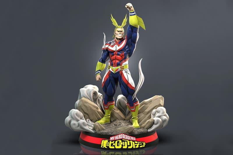 RC Studios My Hero Academia Plus Ultra All Might Statue Kohei Horikoshi anime manga collectibles figures Midoriya