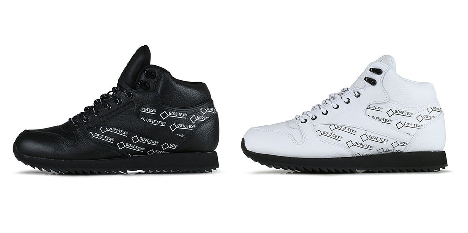 offer discounts quality design get new Reebok Classic Leather Mid GORE-TEX Sneaker Drop | HYPEBEAST