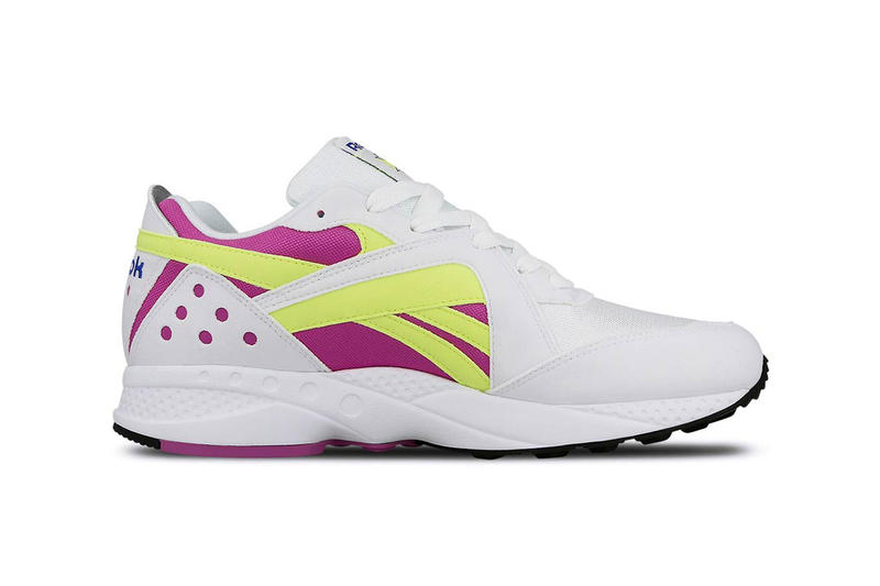 reebok pyro 2018 november december 6 fall winter fw18 info details release date sneaker sneakers retro runner trainer shoes White Vicious Violet Neon Yellow Crushed Cobalt Black night navy pink fusion