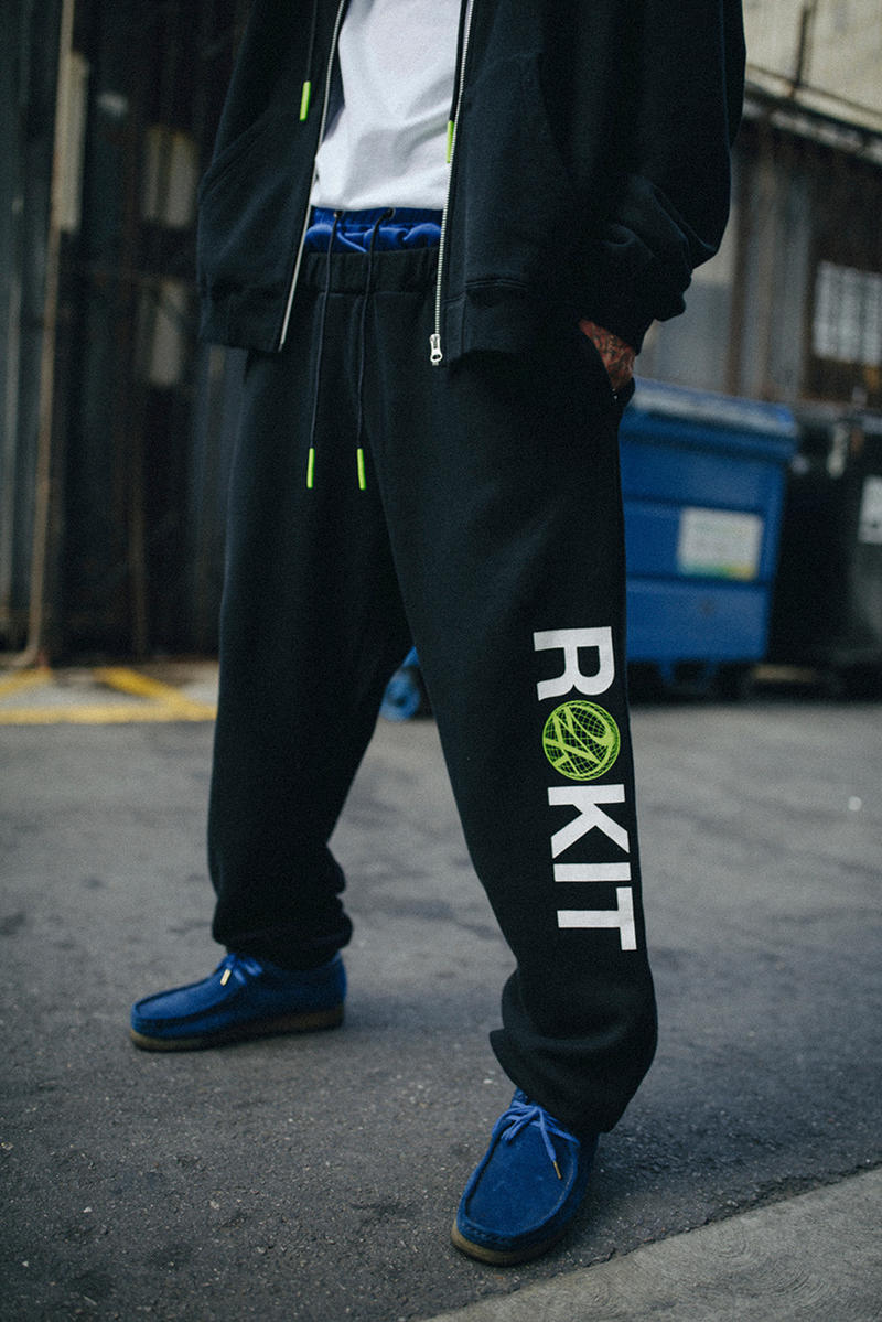 Rokit x 24Karats Tokyo Limited Edition Collection release date collaboration streetwear mizuno