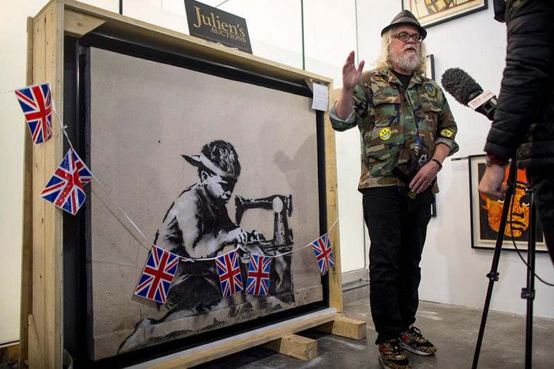 ron english banksy street art painting artwork protest
