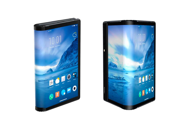 Royole Debuts World's First Commercial Foldable Smartphone tech apple samsung telephones tablets