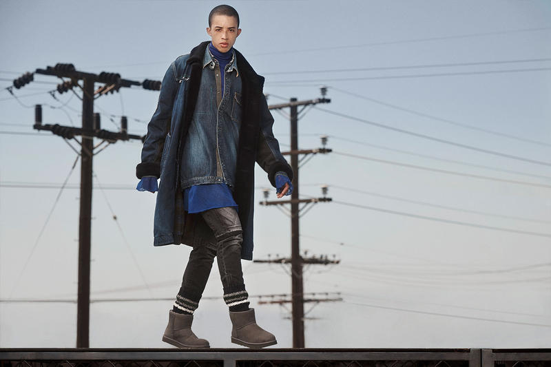 sacai UGG Fall winter 2018 collection lookbooks mens womens