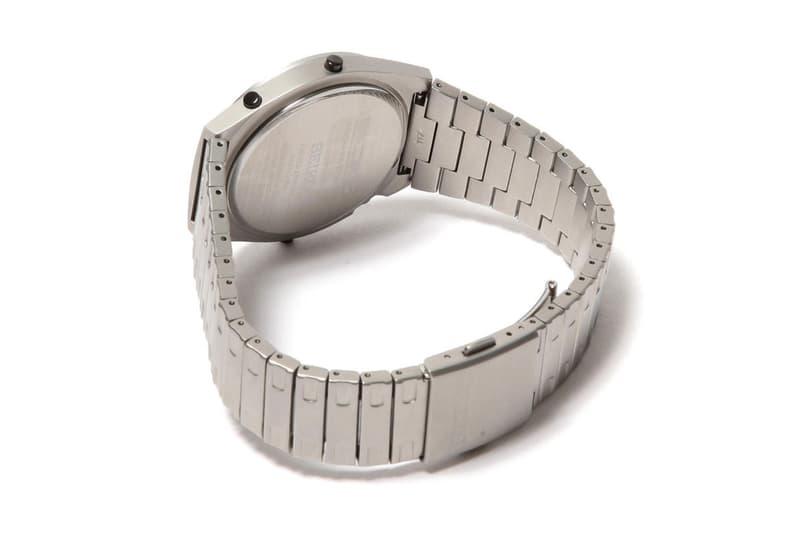 Seiko Giugiaro Design Digital Tachymeter Watch gold silver black retro price release date BEAMS