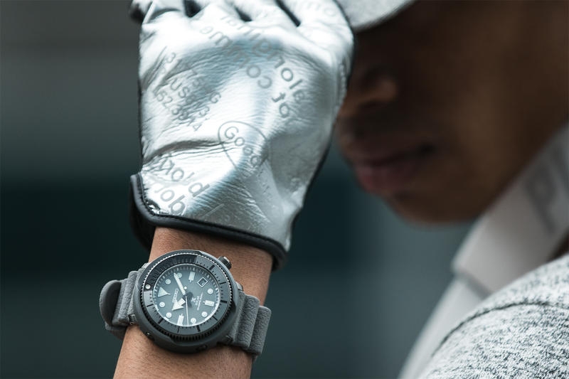 Seiko Prospex Street Series 2018 Japan solar power navy army green grey watches timepieces silicone bands