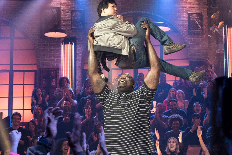 Shaq Shaquille O'Neal Shaquille O'Neal Ken Jeong TBS Series Unqualified pilot drop the mic