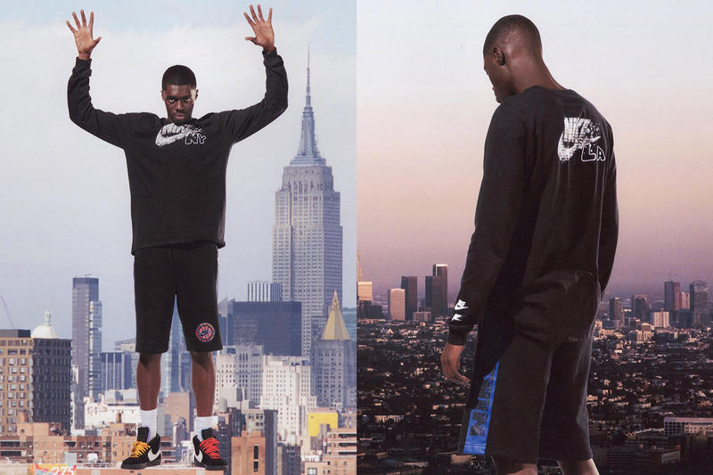 Sheck Wes Nike NYC Editions Collection Air Max 95 Blazer Mid black purple yellow orange teal blue New York Los Angeles basketball drop release date info