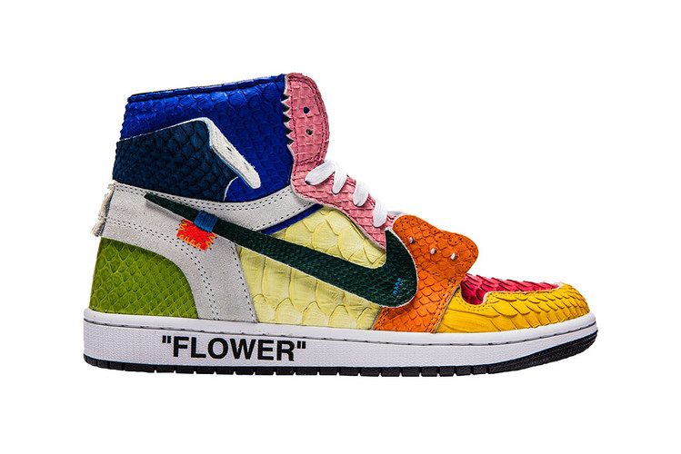 6b52db82d0fb9e The Shoe Surgeon Honors Takashi Murakami With Off-White™ Air Jordan 1  Customs