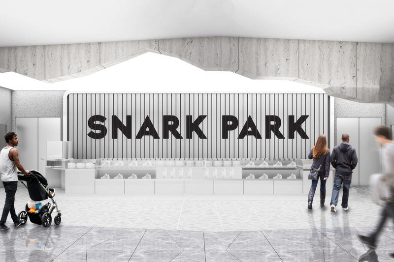 snarkitecture snark park exhibition space hudson yards new york city artworks installations