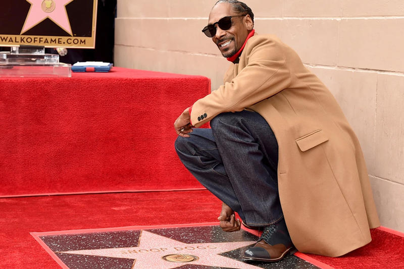 Snoop Dogg Star Hollywood Walk Of Fame