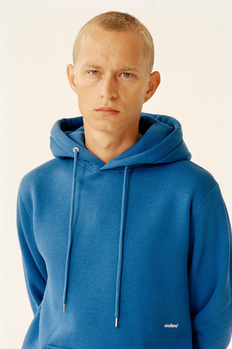 Soulland Sustainability Logic Capsule Eco Pride Basics Hoodie tee sweatshirt t-shirt release details lookbook first look copenhagen silas adler