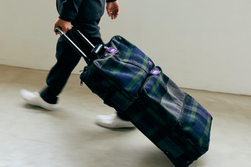 Spike Jonze x Nanamica x The North Face Purple Label Collab Collection Roller Bags Cop Purchase Buy luggage bags