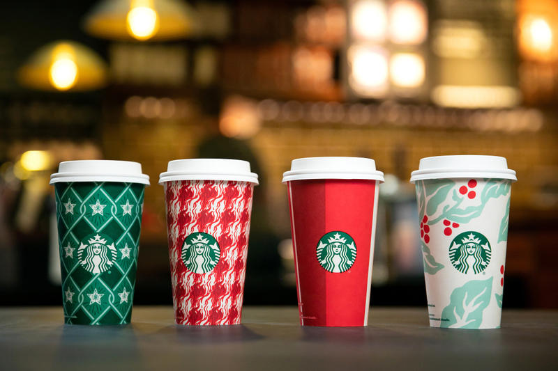 Starbucks 2018 Holiday Cup Designs