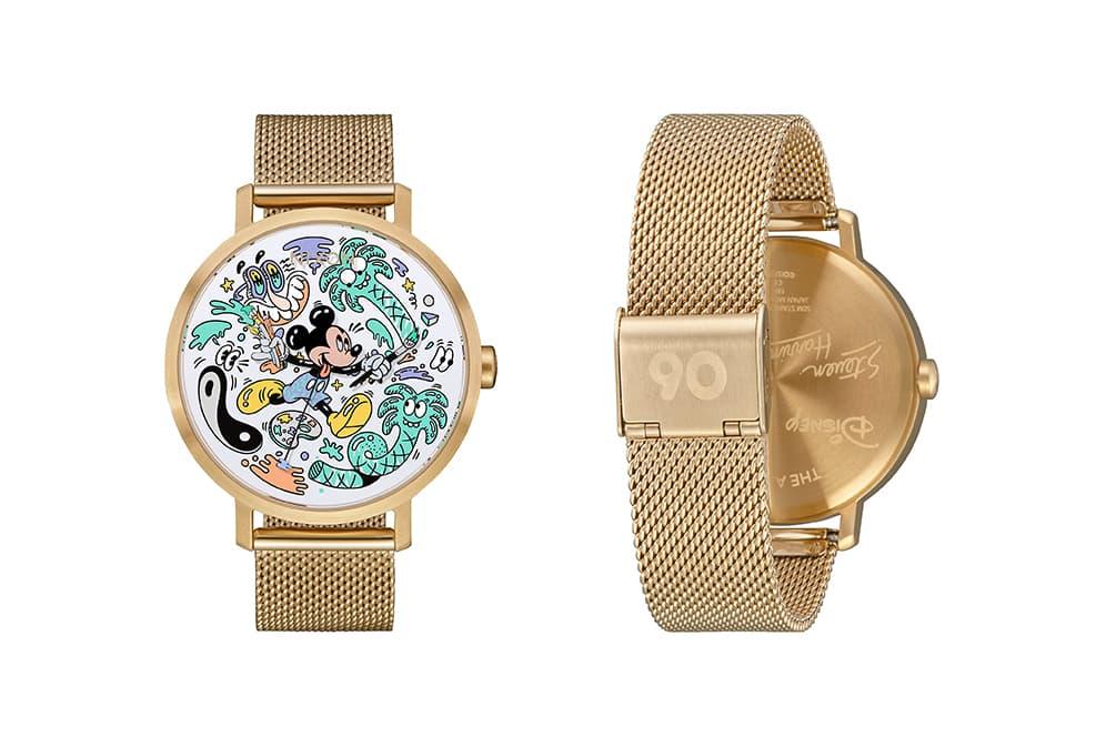 "Steven Harrington's Playful Graphics Adorn Disney x Nixon ""Mickey the True Original"" Watches"